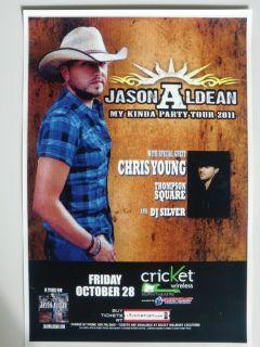 Jason Aldean Chris Young Thompson Square 2011 San Diego Concert Tour