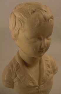 PR French Parian Style Jean Antoine Houdon Busts Statue Brongniart