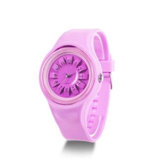 Luxury HOTARU 3D Silicone Jelly Quartz Rubber Sport Wrist Watch Men
