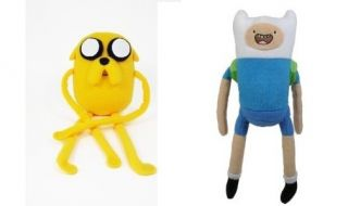 Jazwares Adventure Time with Finn Jake 10 Plush Set of 2 14220