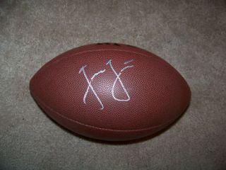 Jason Garrett Dallas Cowboy Autograph Signed Football