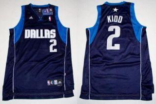 Swingman Dallas Mavericks Jason Kidd Blue Jersey 2XL