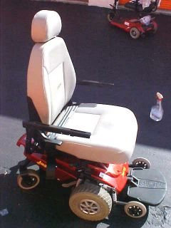 Pride Jazzy Select Electric Powerchair Wheelchair Parts Headrest