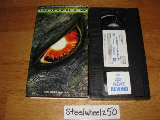 VHS 1998 Matthew Broderick Jean Reno Tri Star 043396231238