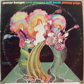 Eric Clapton Jeff Beck Jimmy Page Guitar Boogie LP VG