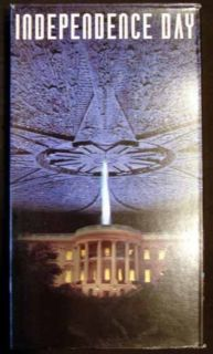 Independence Day VHS 1996 Will Smith Jeff Goldblum 086162411830