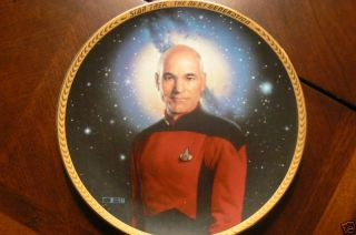 Star Trek Captain Jean Luc Picard Limited Edition Plate