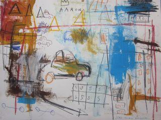 Jean Michel Basquiat Drawing $250