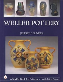 Weller Pottery ID$ Book Vases Jardineres More