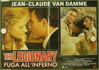 CU93 The Legionary Jean Claude Van Damme Legion 2 Orgit