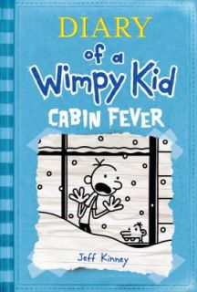Diary of A Wimpy Kid Cabin Fever Hardcover Jeff Kinney New