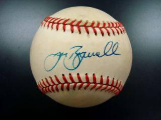 Jeff Bagwell Single Signed Official Baseball Astros