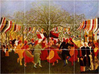XL Jean Jacques Rousseau Poster Art Painting Backsplash Wall