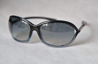 Tom Ford Womens Mens Dark Grey Jennifer TF8 20B Luxe Sunglasses Case