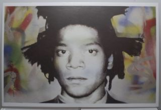 Brainwash Icons New York 2010 Postcard Jean Michel Basquiat