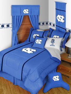 UNC North Carolina Tarheels Twin Full Queen Comforter