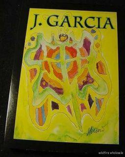 Jerry J Garcia Grateful Dead Art Cards Butterfly Tie J Artwork
