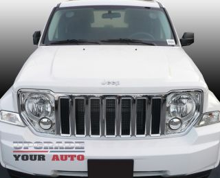 Jeep Liberty Chrome Grille OEM Style 2008 2012