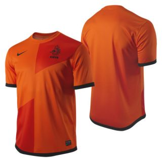 Netherlands Official Euro 2012 Home Soccer Jersey New Orange