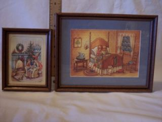 Holiday Prints w/ Children Professional Framed Grahams Jerseyville