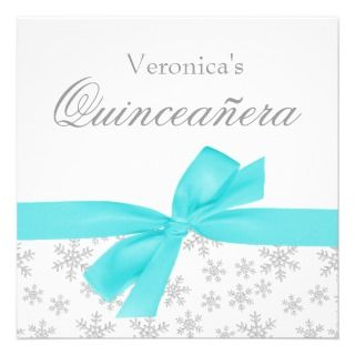 Para Quinceaneras Invitations, 25 Para Quinceaneras Announcements