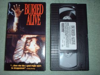 Buried Alive VHS 1991 Tim Matheson Jennifer Jason Leigh RARE
