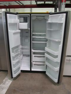 Jenn Air Counter Depth Stainless Steel Side by Side Refrigerator