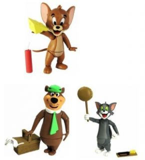 Hanna Barbera Tom and Jerry Yogi Bear 3 Figure Set of 3 New