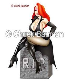 Sexy Girl Magnet Jessica Rabbit Elvira Vampire Pinup
