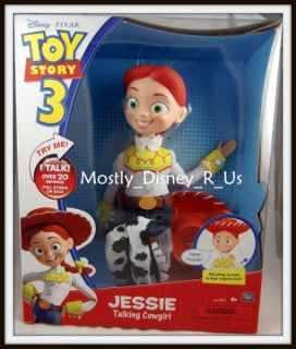 New Disney Toy Story Original Voice Talking Jessie Doll