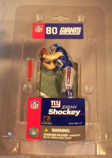 Jeremy Shockey New York Giants Mini McFarlane NFL Figure Jersey 3 Inch