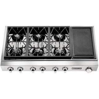 JENN AIR Discontinued Model JGCP648ADP 48 Pro Style Stainless Steel