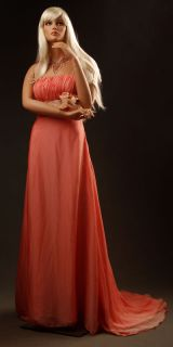 332334 Female Fiberglass Mannequin w Wig Jennifer 12