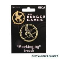 Hunger Games Collins Metal Mockingjay Brooch Pin Cosplay Costume