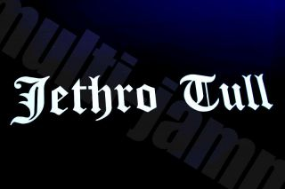 Jethro Tull Old English LOGO   VINYL Decal Sticker Car Window   Guitar