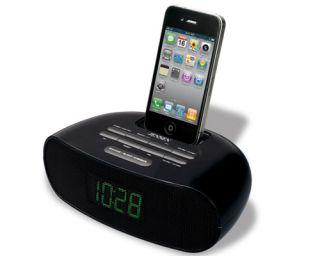 Jensen Jims 70i iPod Docking Station Alarm Clock Radio