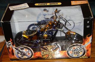 Jesse James West Coast ChoppersPenny Saved Gold Purple 1 5 Diecast