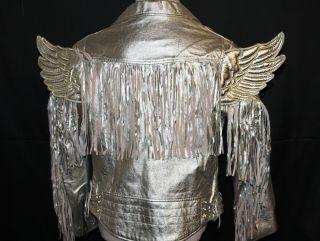 Mens Adidas Jeremy Scott JS Gold Wings Jacket Coat Size XS s M L XL $