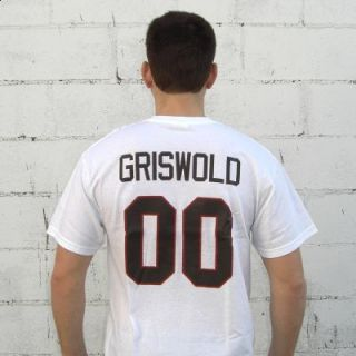 Clark Griswold 00 Jersey T Shirt Christmas Vacation Movie Hockey New