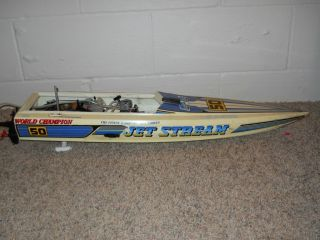 Kyosho RC Jet Stream GP10 Nitro Boat with OS 10 Marine Engine