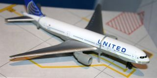 RT United Airlines Continental Merger NEW Livery Airplane Boeing 777