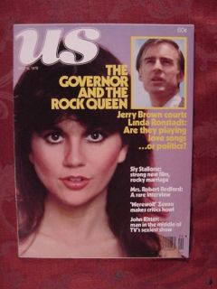 US May 16 1978 Jerry Brown Linda Ronstadt John Ritter