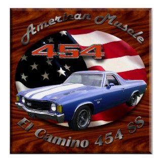 El Camino 454 SS Poster
