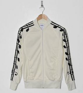 Adidas ObyO Jeremy Scott JS Musical Notes Tracksuit Top Jacket XS s M