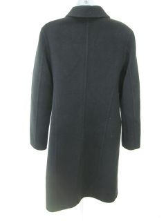 You are bidding on a JIL SANDER Navy Angora Button Coat Jacket in a