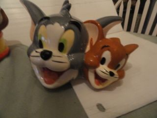 The Cat and Jerry The Mouse Best Friend Cookie Jar New w O Box