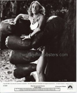 King Kong Orig 76 Still Jessica Lange in King Kong Paw