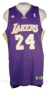 Lakers Kobe Bryant Swingman Jersey Adidas NBA Purp La M