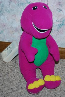 Playskool Hasbro 71245 Talking Barney Dinosaur Toy Doll Battery