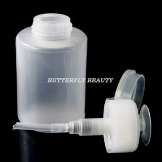 Nail Art Pump Dispenser for Polish Remover Cleaner D128